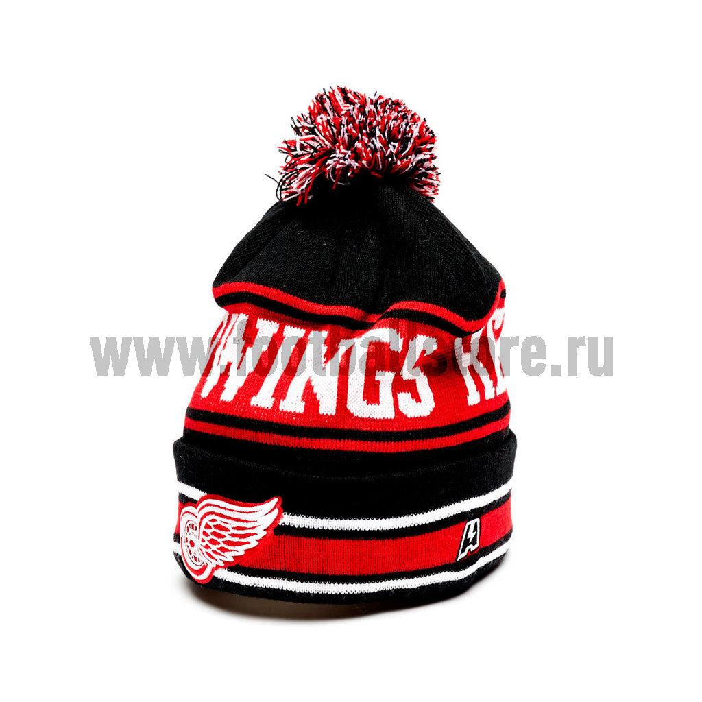 Шапка Detroit Red Wings NHL 59019 сумка на ремне nhl red wings цвет черный 3 5 л 58017 page 8