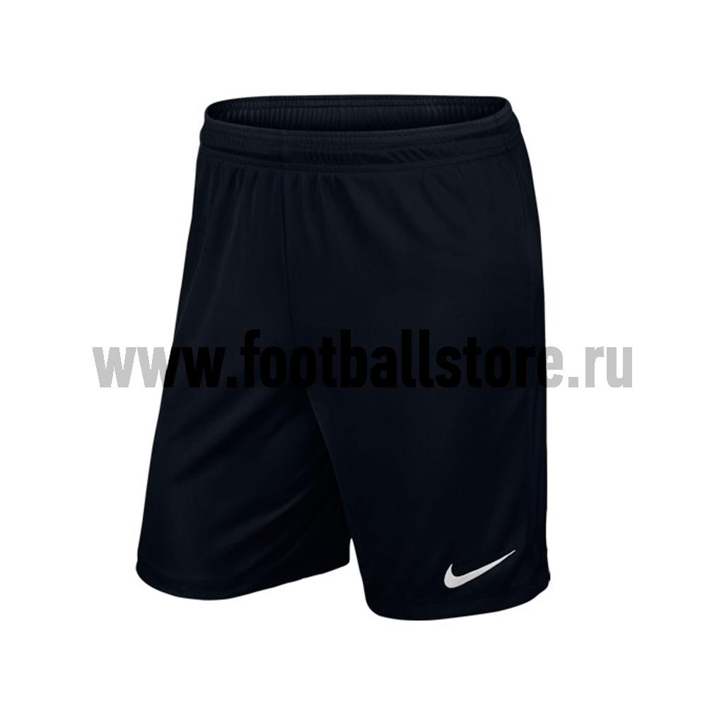 Игровая форма Nike Шорты Nike YTH Park II Knit Short WB 725989-010 игровая форма nike шорты игровые nike boys park ii nb 725988 677