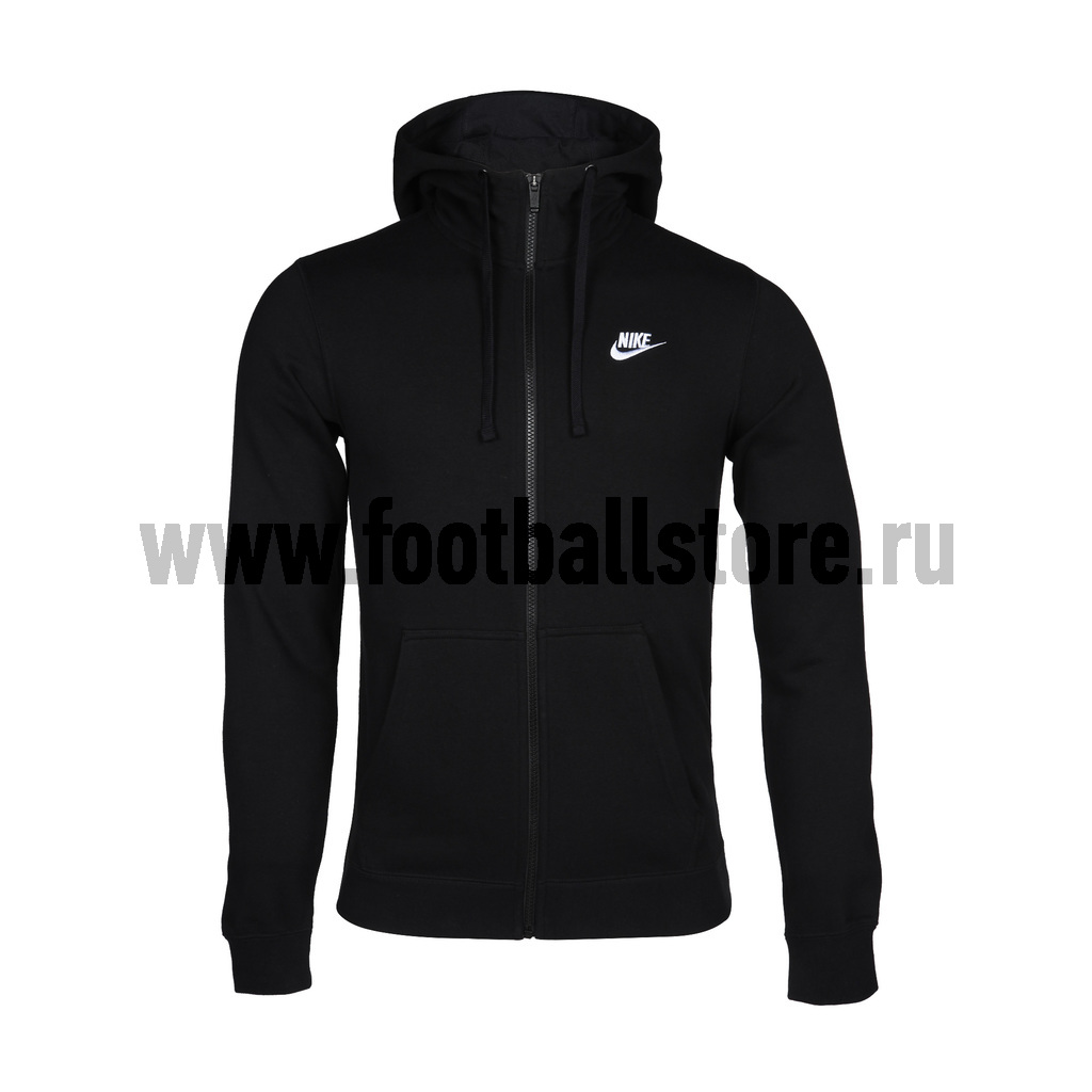 Толстовка Nike M NSW Hoodie FZ FT Club 804391-010 original new arrival 2017 nike as m nsw av15 pant wvn men s pants sportswear