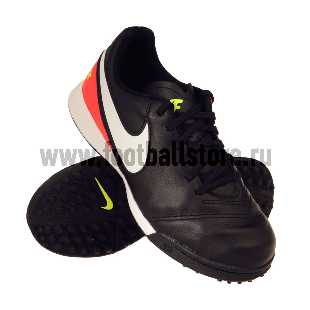 Бутсы Nike Шиповки Nike JR TiempoX Legend VI TF 819191-018 бутсы nike шиповки nike jr tiempox legend vi tf 819191 018