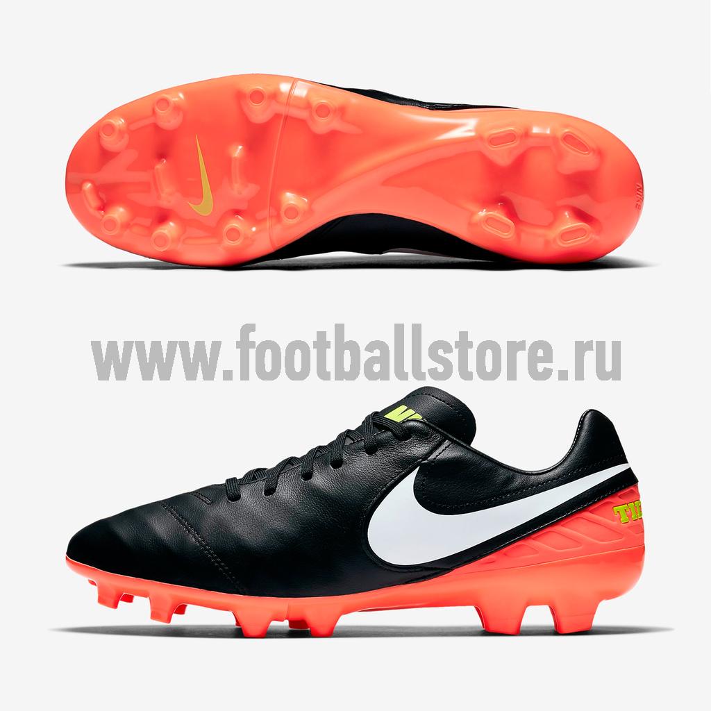 Игровые бутсы Nike Бутсы Nike Tiempo Mystic V FG 819236-018  цена и фото