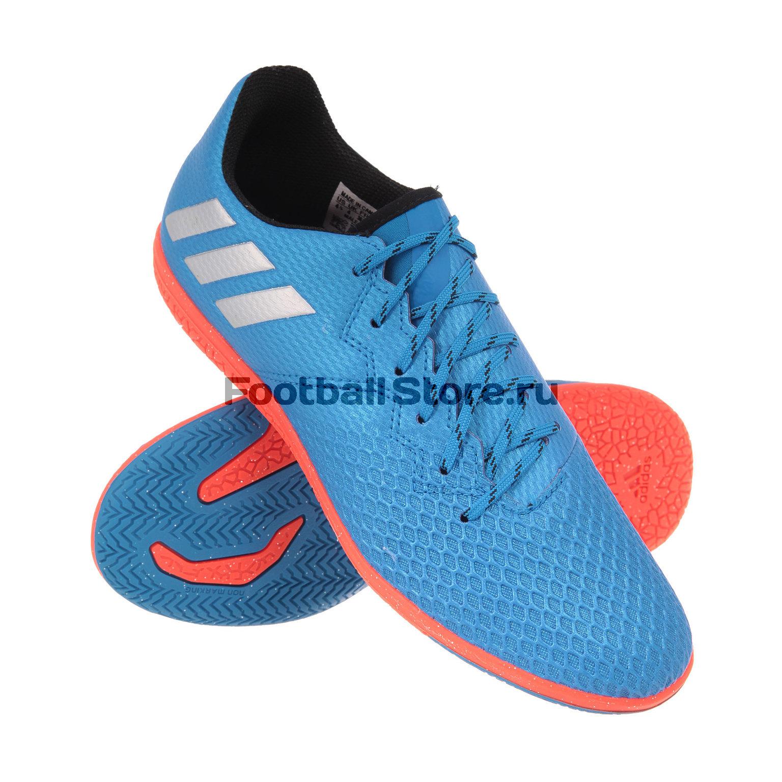 ФОТО adidas Обувь для зала adidas messi 16.3 in jr s79640