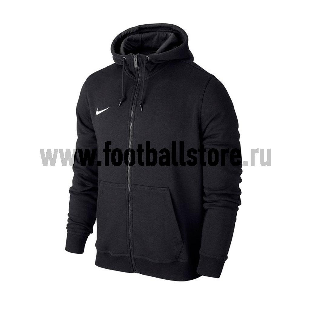 Тренировочная форма Nike Толстовка подростковая Nike YTH Team Club FZ Hoody 658499-010 nike лонгслив element 1 2 zip ls top yth