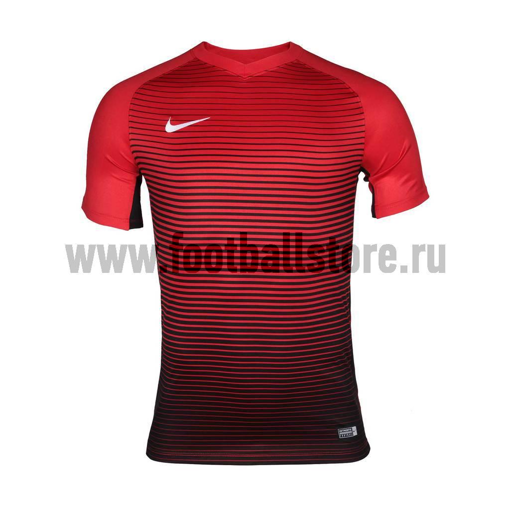 Футболки Nike Футболка игровая Nike SS Precision IV JSY 832975-657 футболки nike футболка nike ss striker iv jsy 725892 739