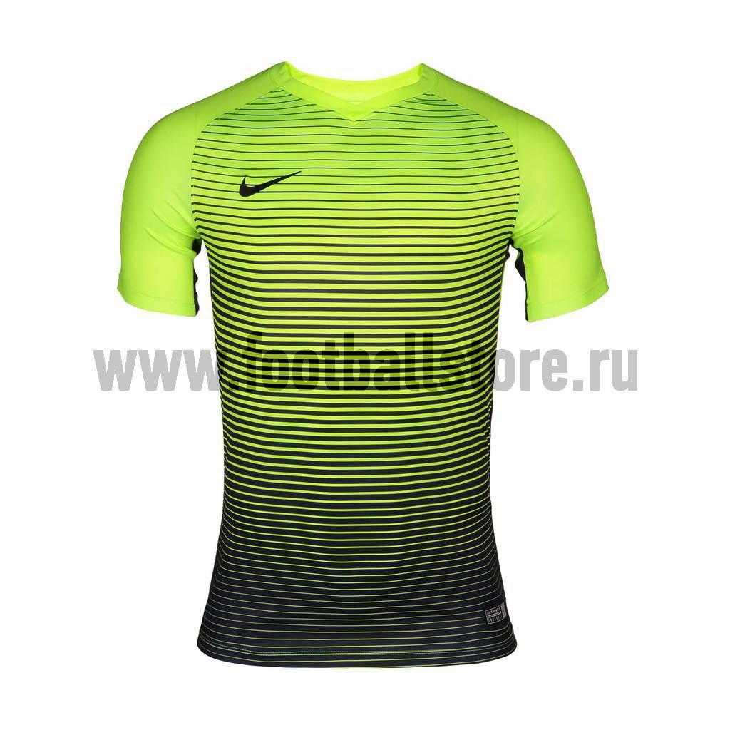 Футболки Nike Футболка игровая Nike SS Precision IV JSY 832975-702 футболки nike футболка nike ss striker iv jsy 725892 739