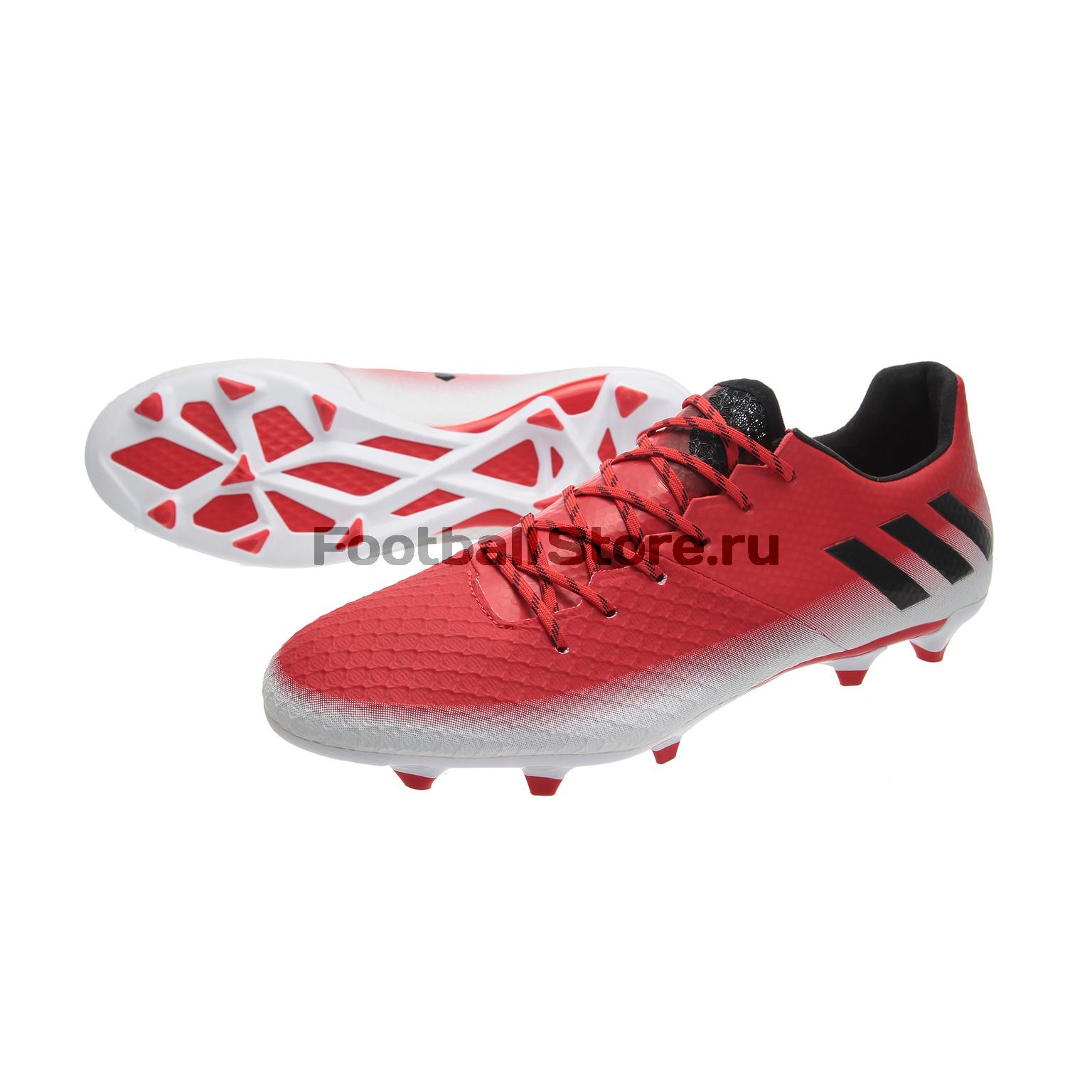 Игровые бутсы Adidas Бутсы Adidas Messi 16.2 FG BA9144