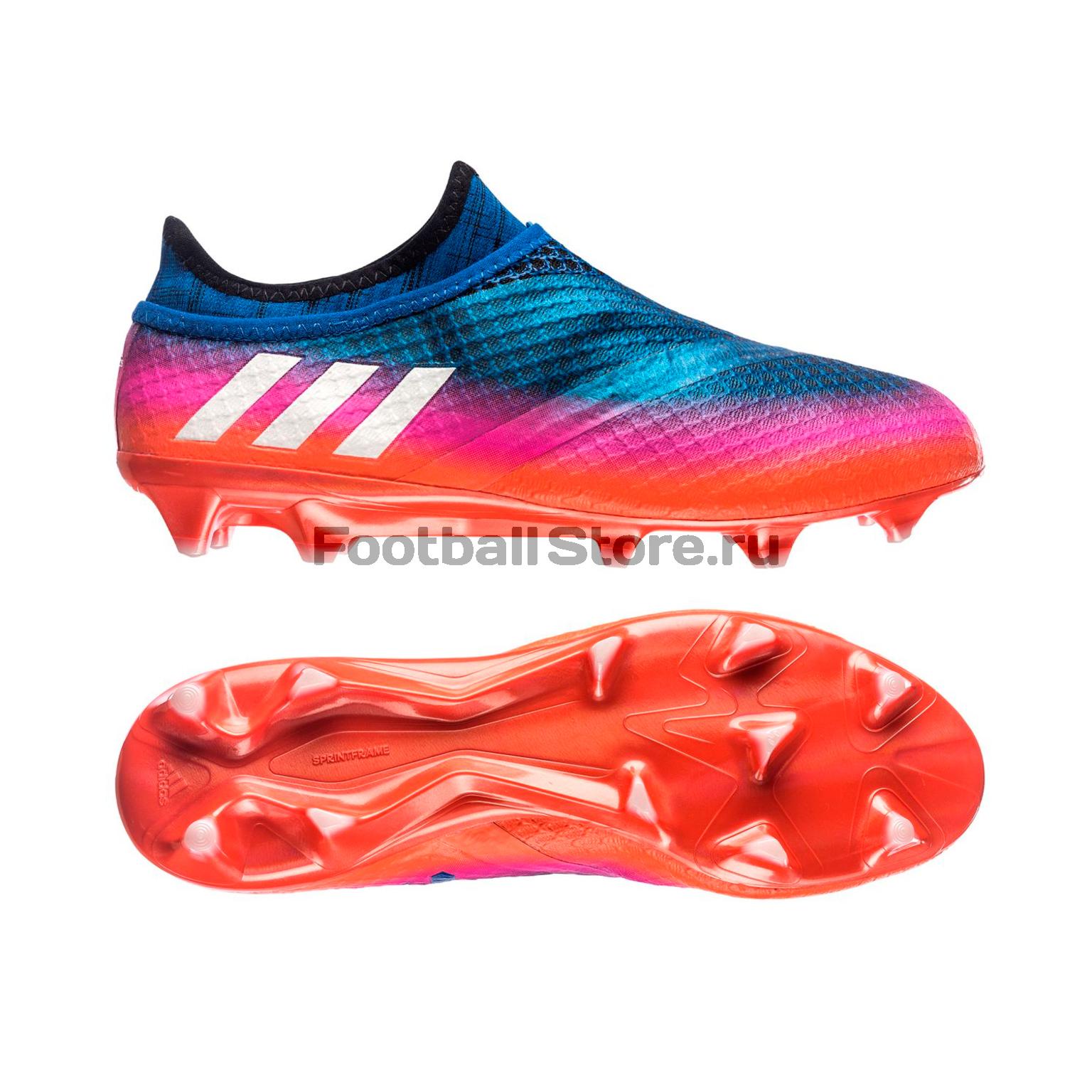 Игровые бутсы Adidas Бутсы Adidas Messi 16+ Pureagility FG BB1871 бутсы adidas бутсы для зала дет спорт messi 16 3 in j