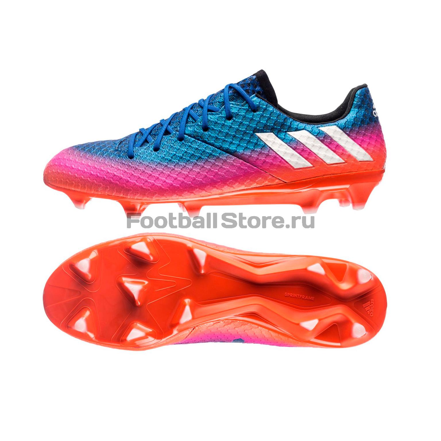Игровые бутсы Adidas Бутсы Adidas Messi 16.1 FG BB1879