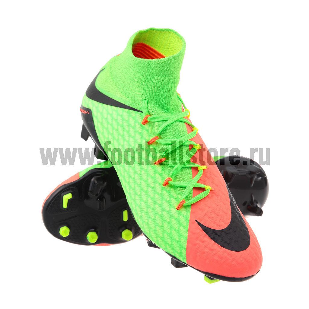 Игровые бутсы Nike Бутсы Nike Hypervenom Phatal III DF FG 852554-308 бутсы nike nike ni464amjff16