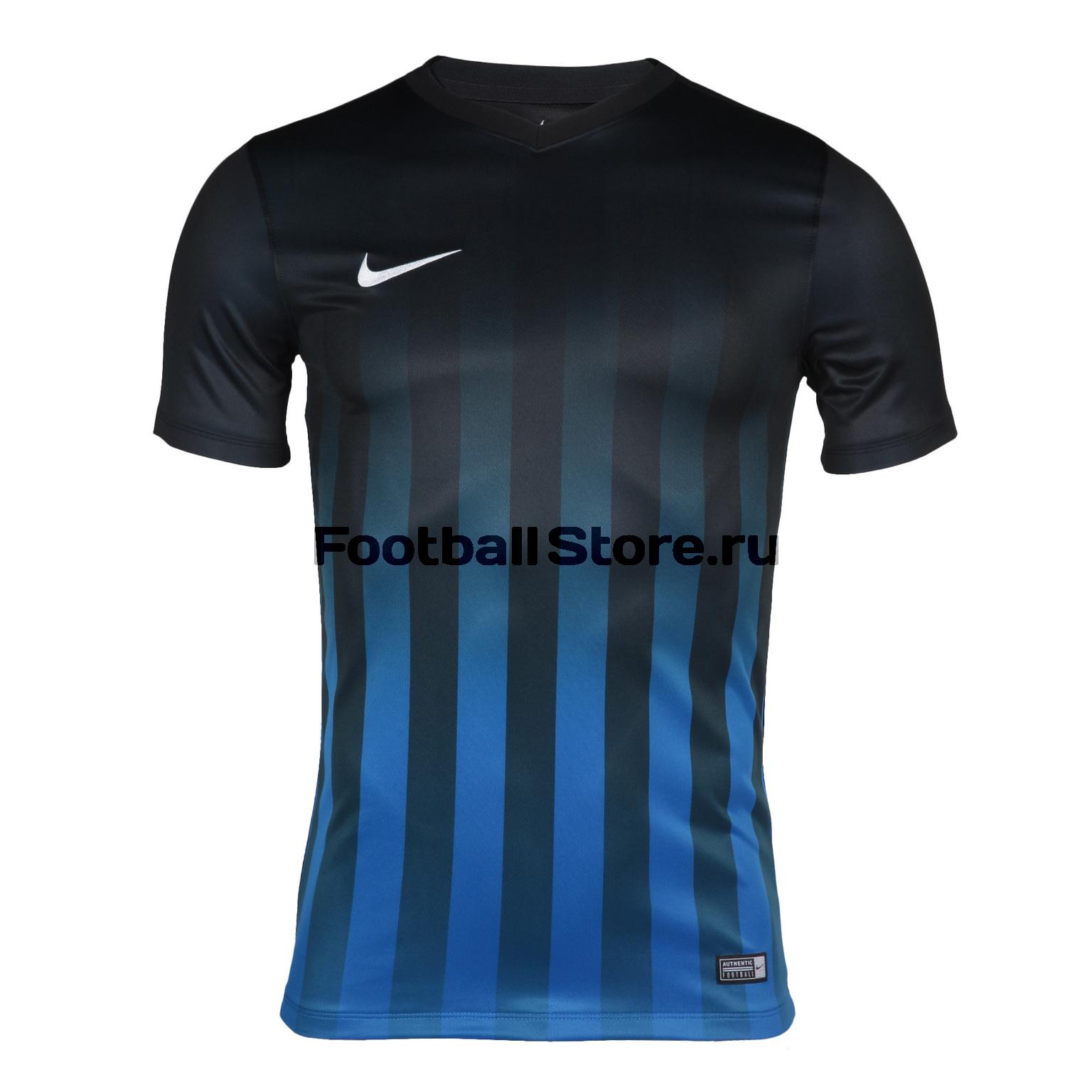 Футболка Nike SS Striped Division II JSY 725893-011 nike nike precision ii ss jersey