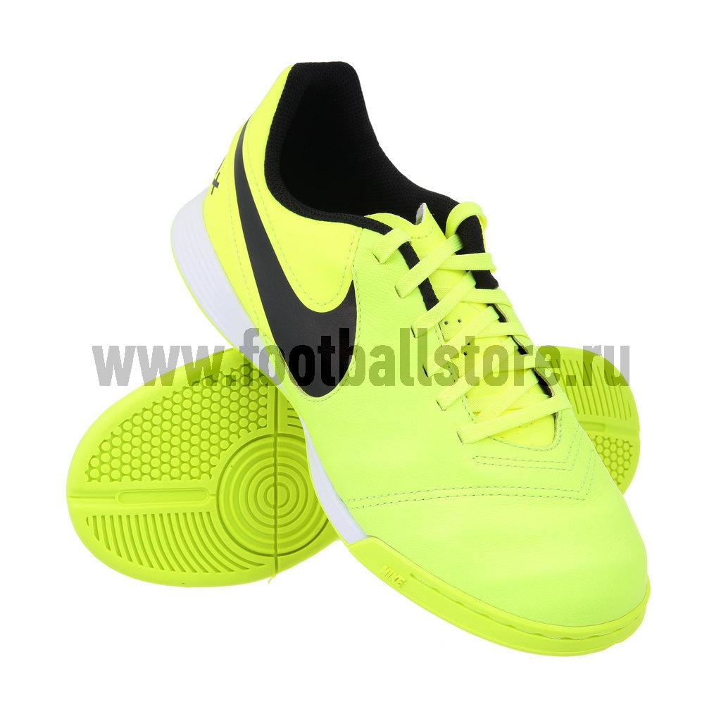 Бутсы Nike Обувь для зала Nike JR TiempoX Legend VI IC 819190-707 обувь для зала nike обувь для зала nike tiempox mystic v ic 819222 707