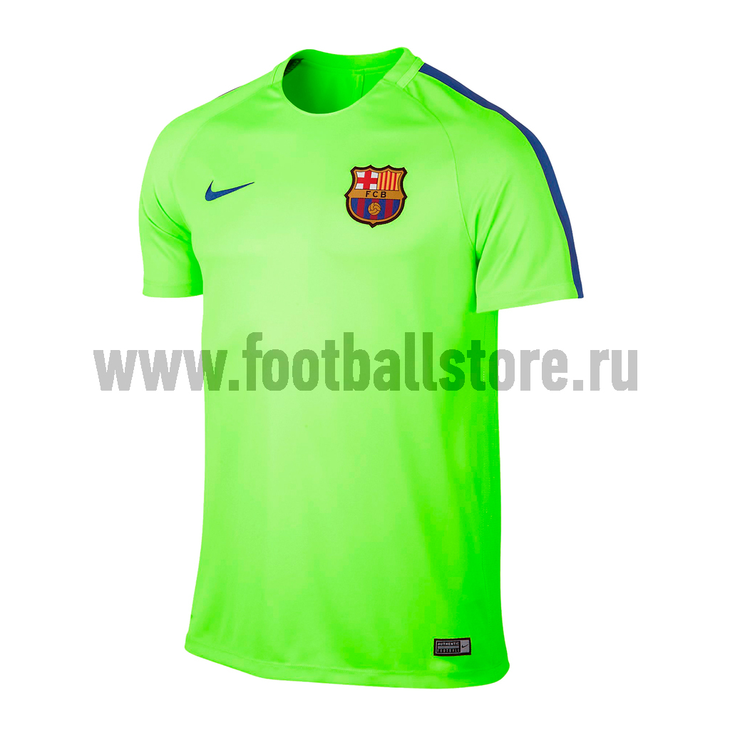 Barcelona Nike Футболка тренировочная Nike FC Barcelona  Dry Top 808924-369  barcelona nike шапка nike fc barcelona training benie crested 805304 010