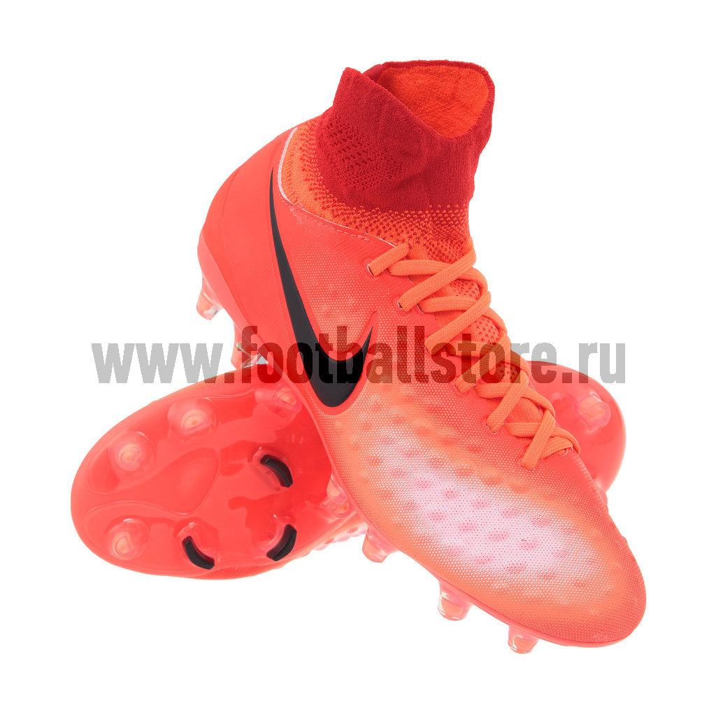 Бутсы Nike Бутсы Nike Magista Obra II FG JR 844410-806