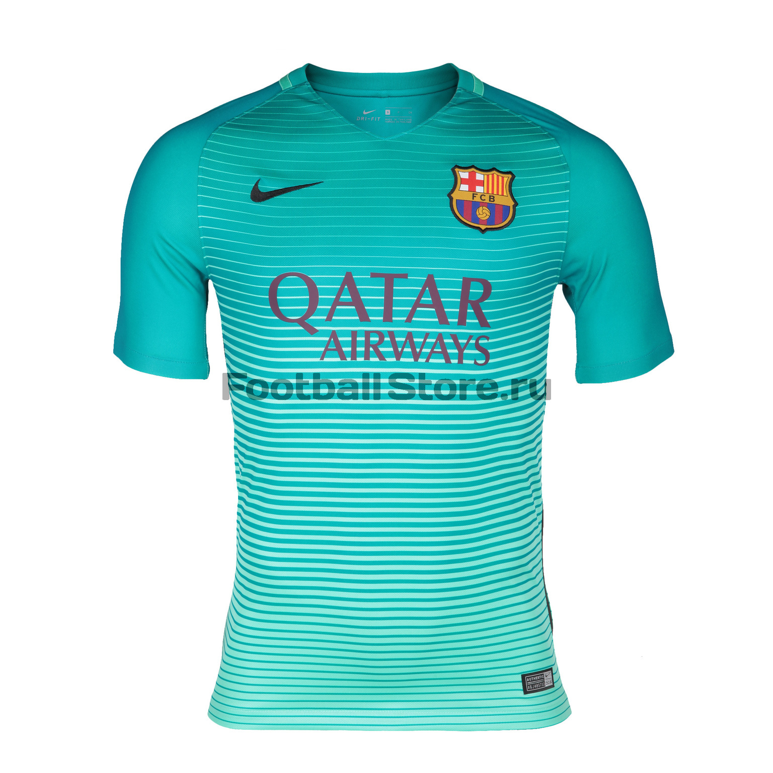 Barcelona Nike Футболка игровая Nike FC Barcelona Third JSY 776854-390  barcelona nike шапка nike fc barcelona training benie crested 805304 010