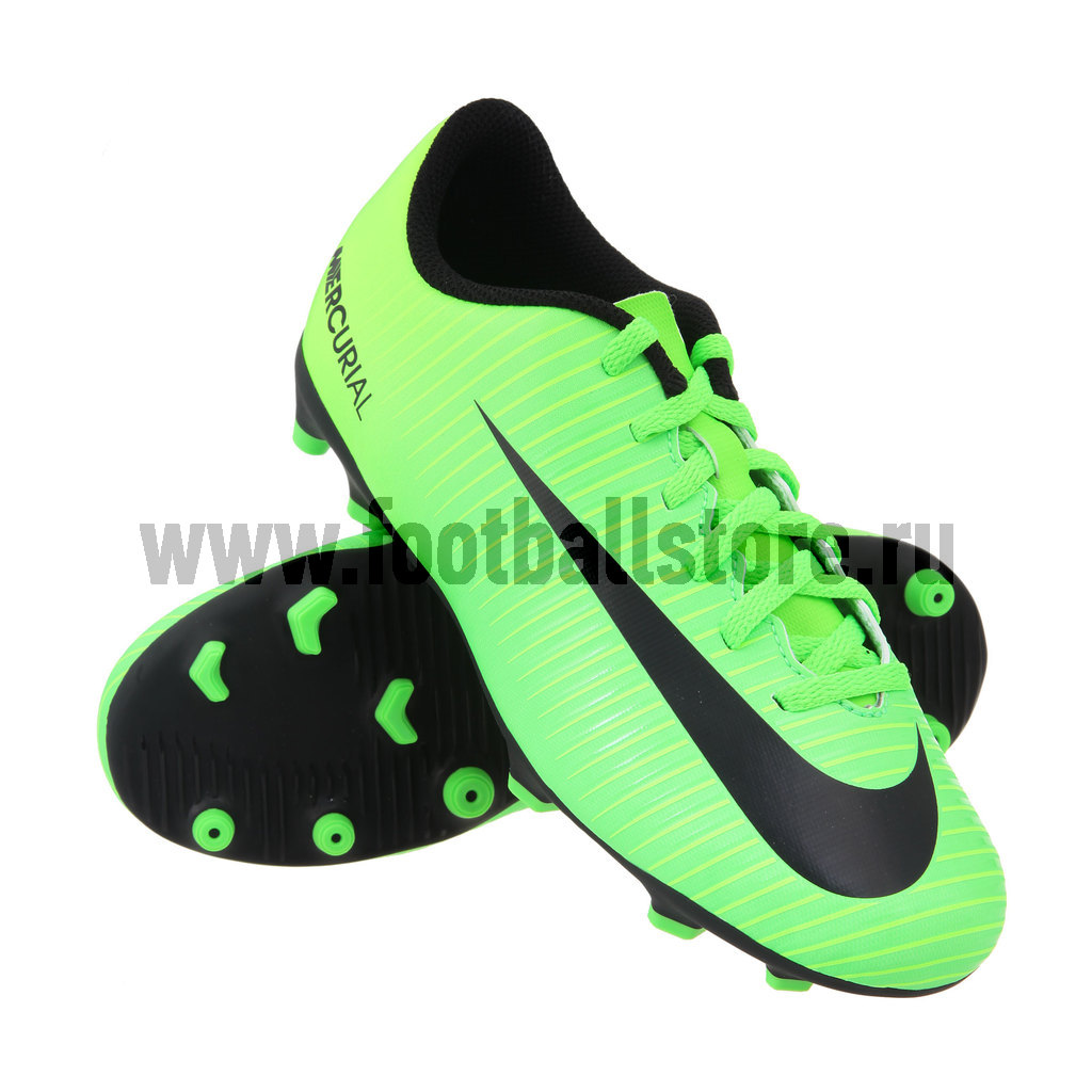 Бутсы Nike Бутсы Nike JR Mercurial Vortex III FG 831952-303
