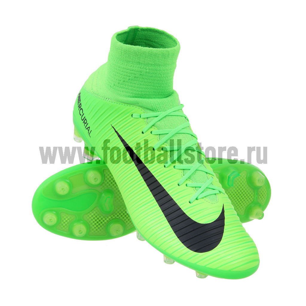Игровые бутсы Nike Бутсы Nike Mercurial Veloce III DF AG-PRO 831960-303 nike nike mercurial lite