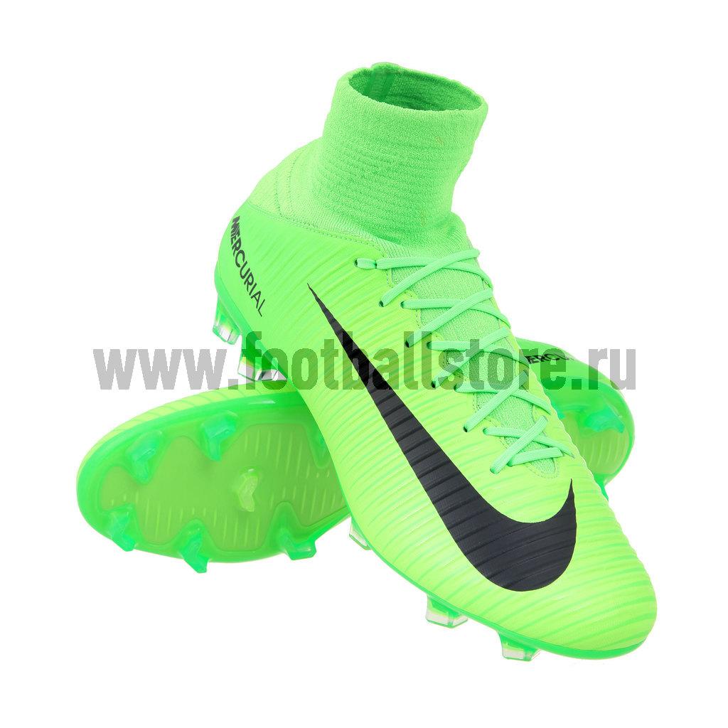 Бутсы Nike Mercurial Veloce III DF FG 831961-303 бутсы футбольные nike mercurial victory vi njr fg 921488 407 jr детские