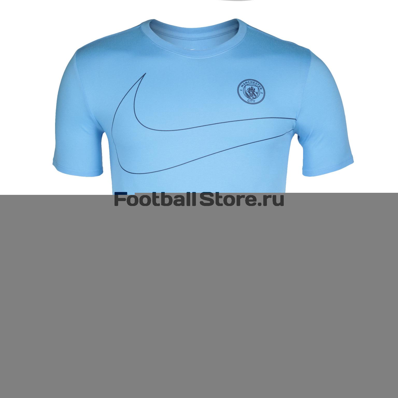 Manchester City Nike Футболка Nike Manchester City Dry Tee Preseason 832735-488