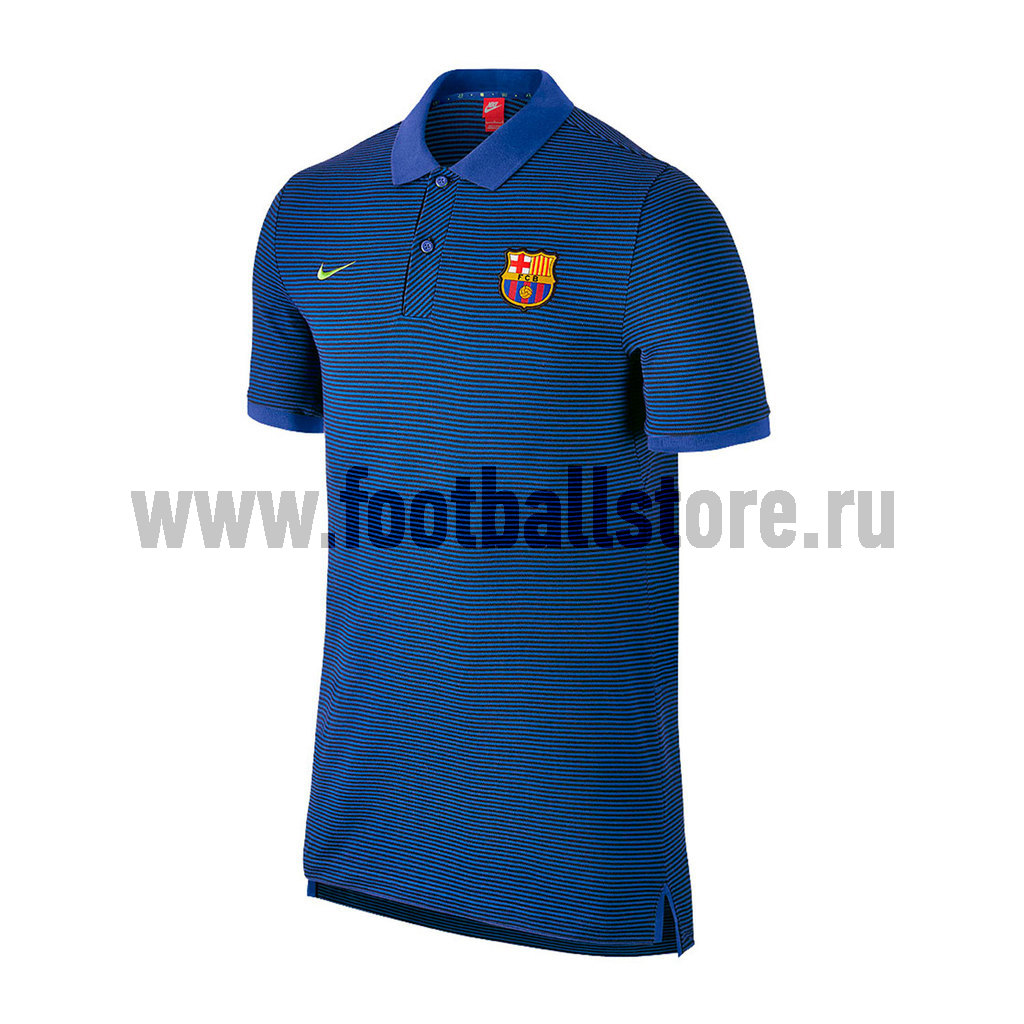 Barcelona Nike Поло Nike Barcelona Auth GS Slim Polo 777268-481