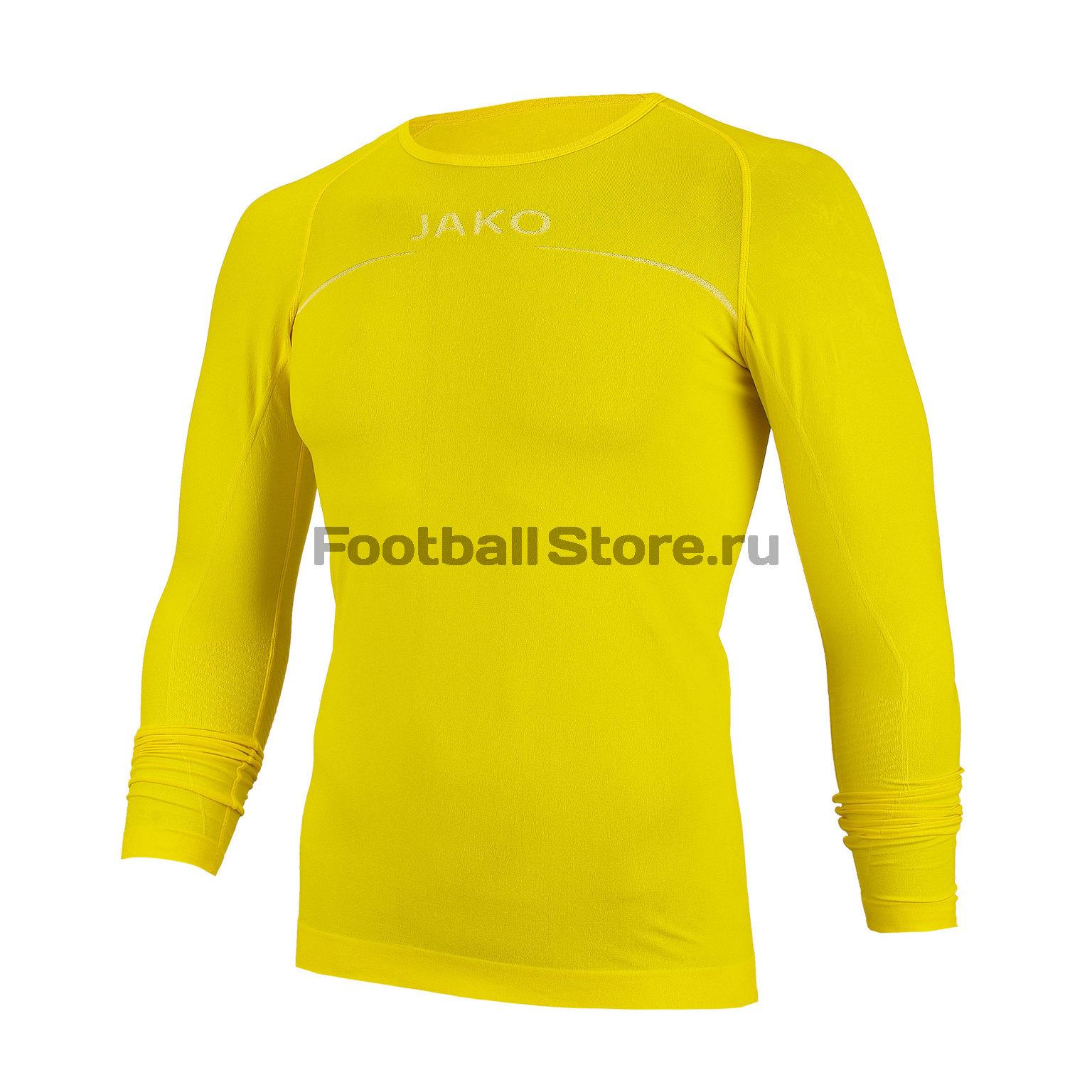 Белье футболка Jako Longsleeve Comfort 6452-30 longsleeve gwinner longsleeve
