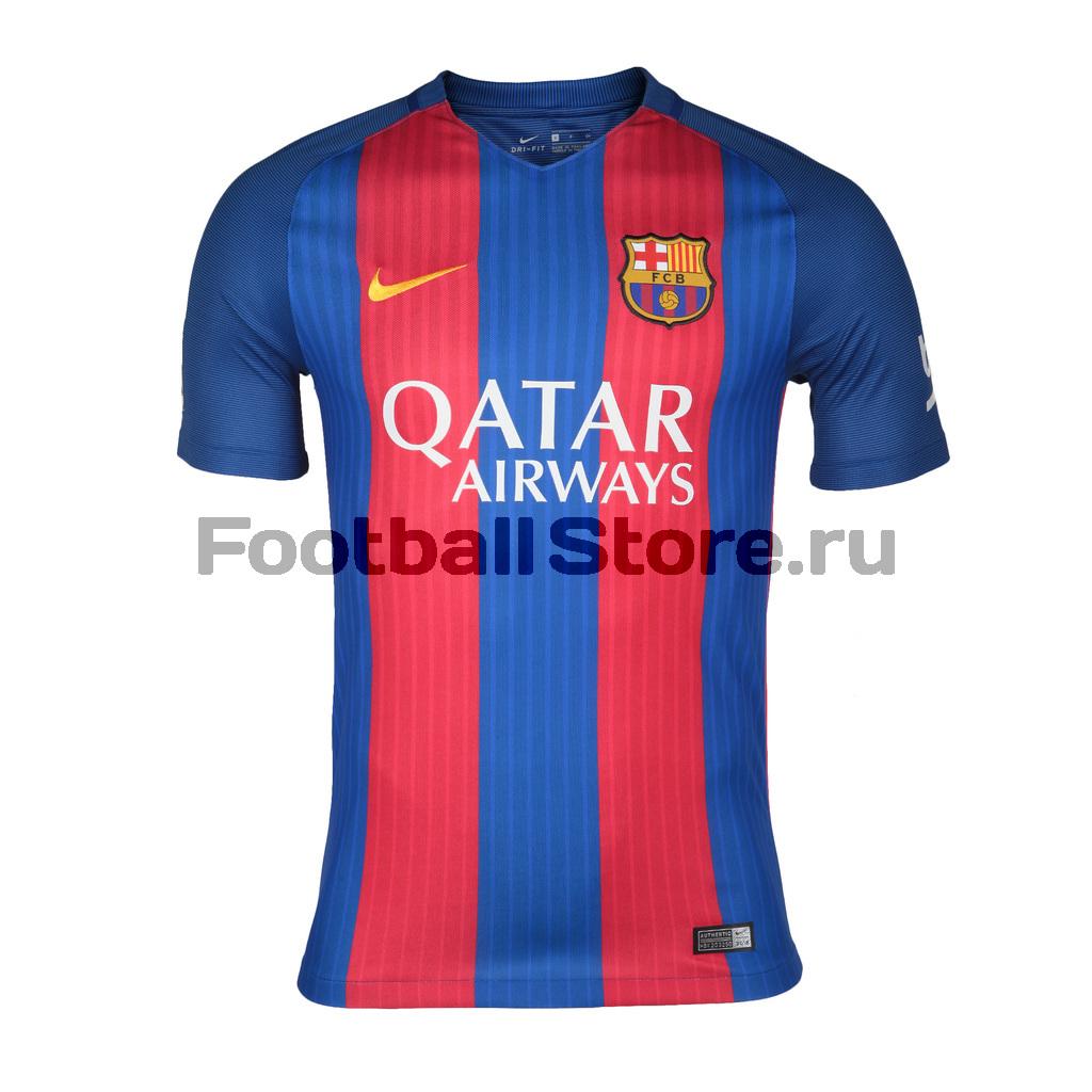 Barcelona Nike Футболка игровая Nike FC Barcelona Home Stadium 776850-415
