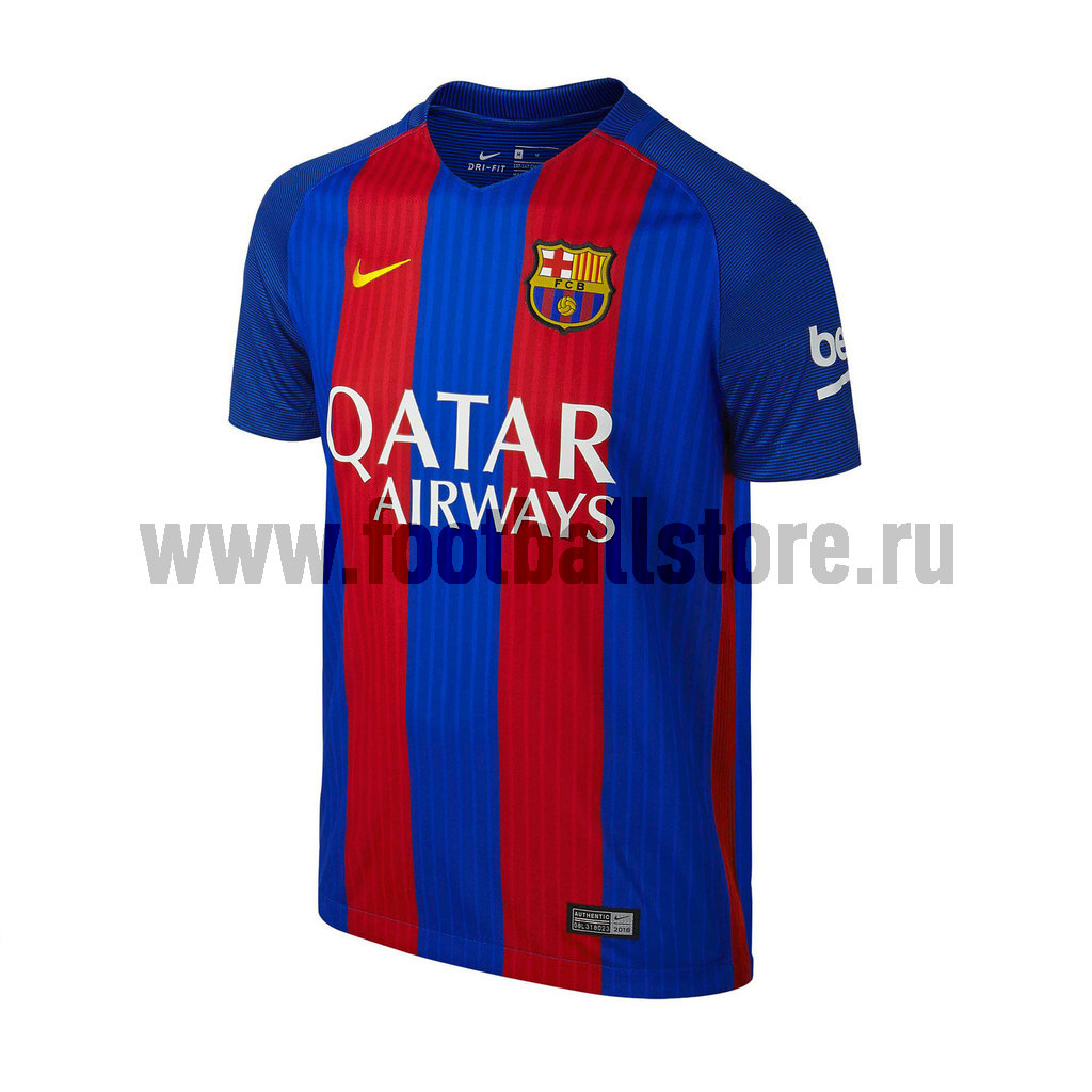 Клубная продукция Nike Футболка подростковая Nike Barcelona Home Stadium 777029-415 nike nike fc spartak 2013 14 home wb replica