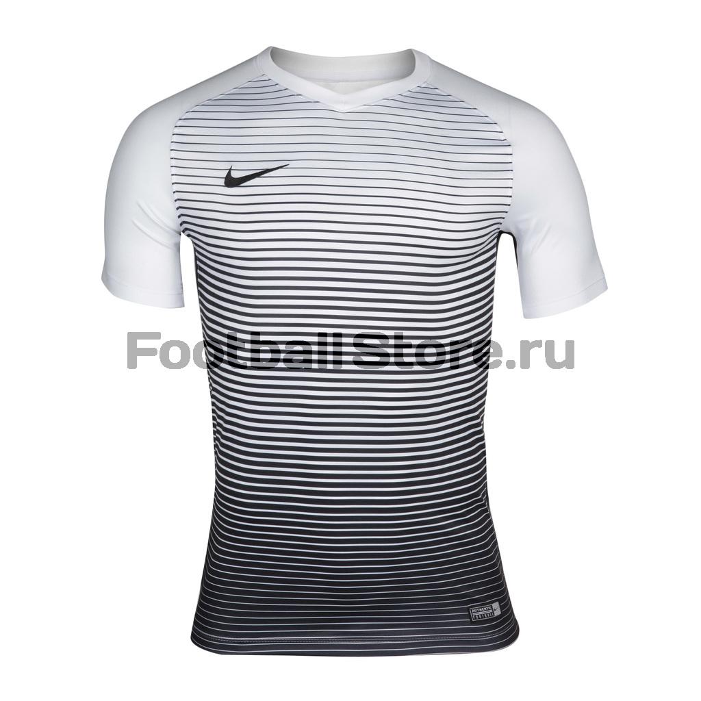 Футболки Nike Футболка игровая Nike SS Precision IV JSY 832975-100 футболки nike футболка nike ss striker iv jsy 725892 739