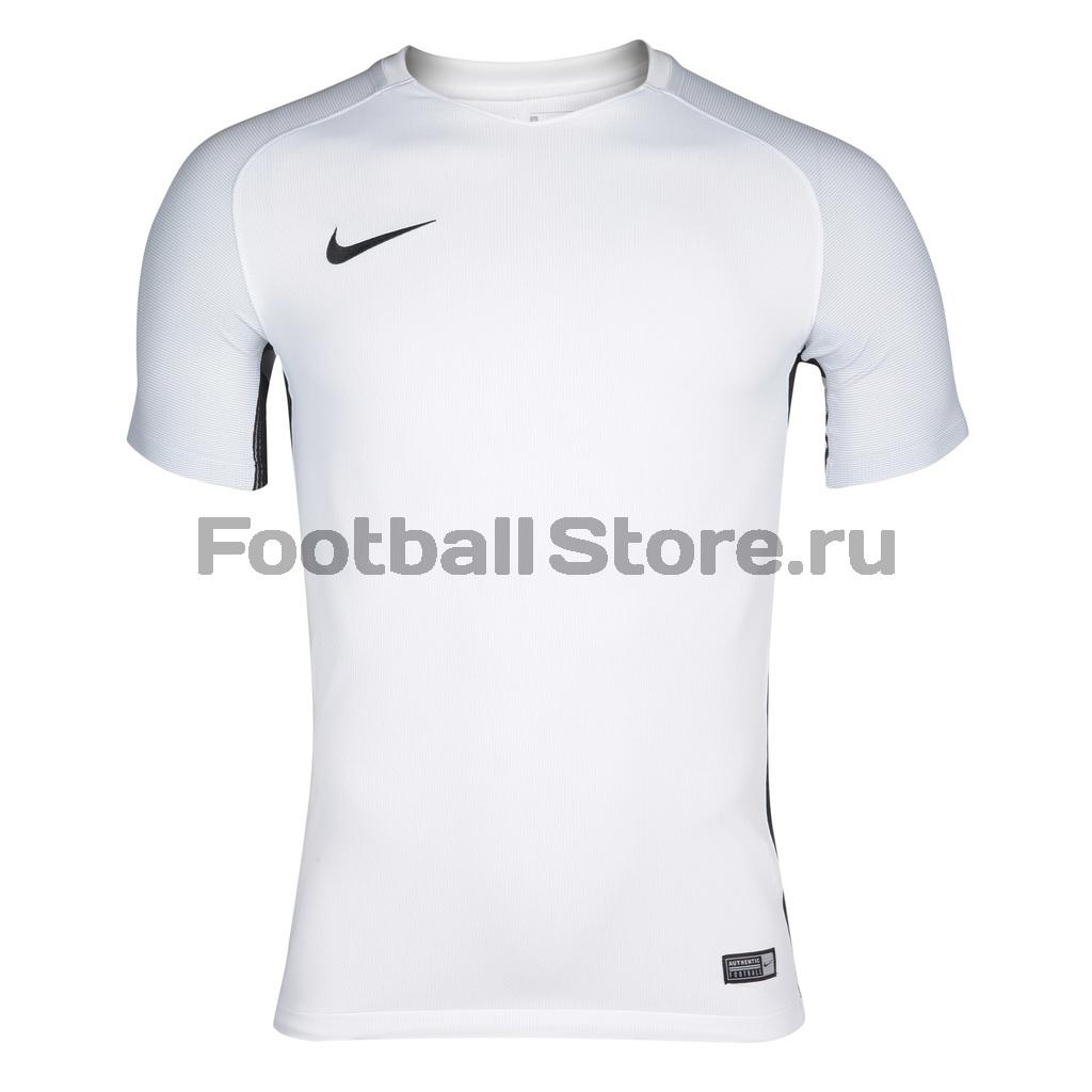 Футболка игровая Nike SS Revolution IV JSY 833017-100 футболка игровая nike dry tiempo prem jsy ss 894230 411