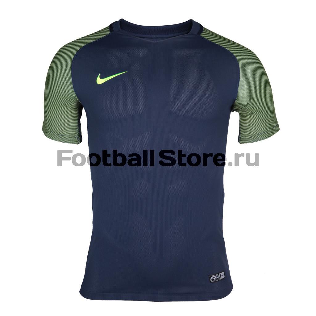 Футболки Nike Футболка игровая Nike SS Revolution IV JSY 833017-410 футболки nike футболка игровая nike ss precision iv jsy 832975 100