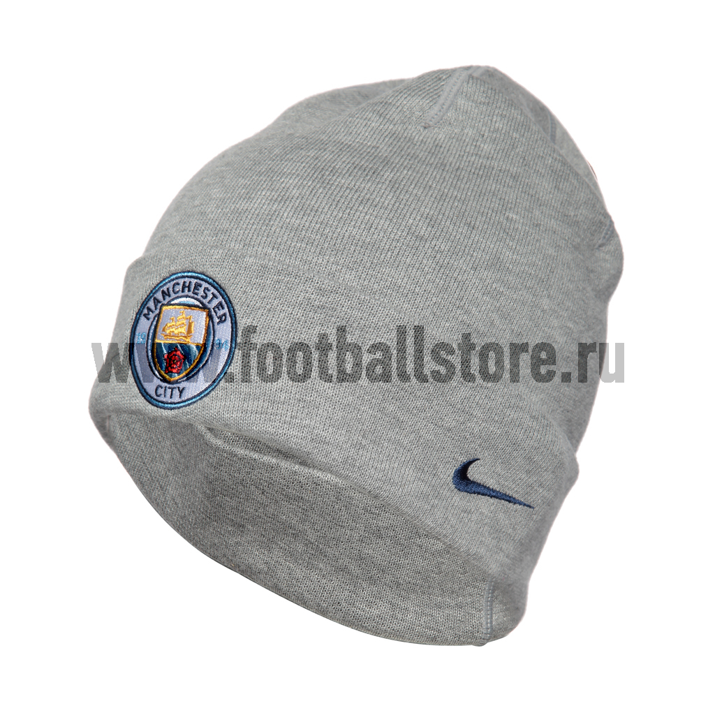 Manchester City Nike Шапка Nike Manchester City U NK Beanie Training 829622-063  цены