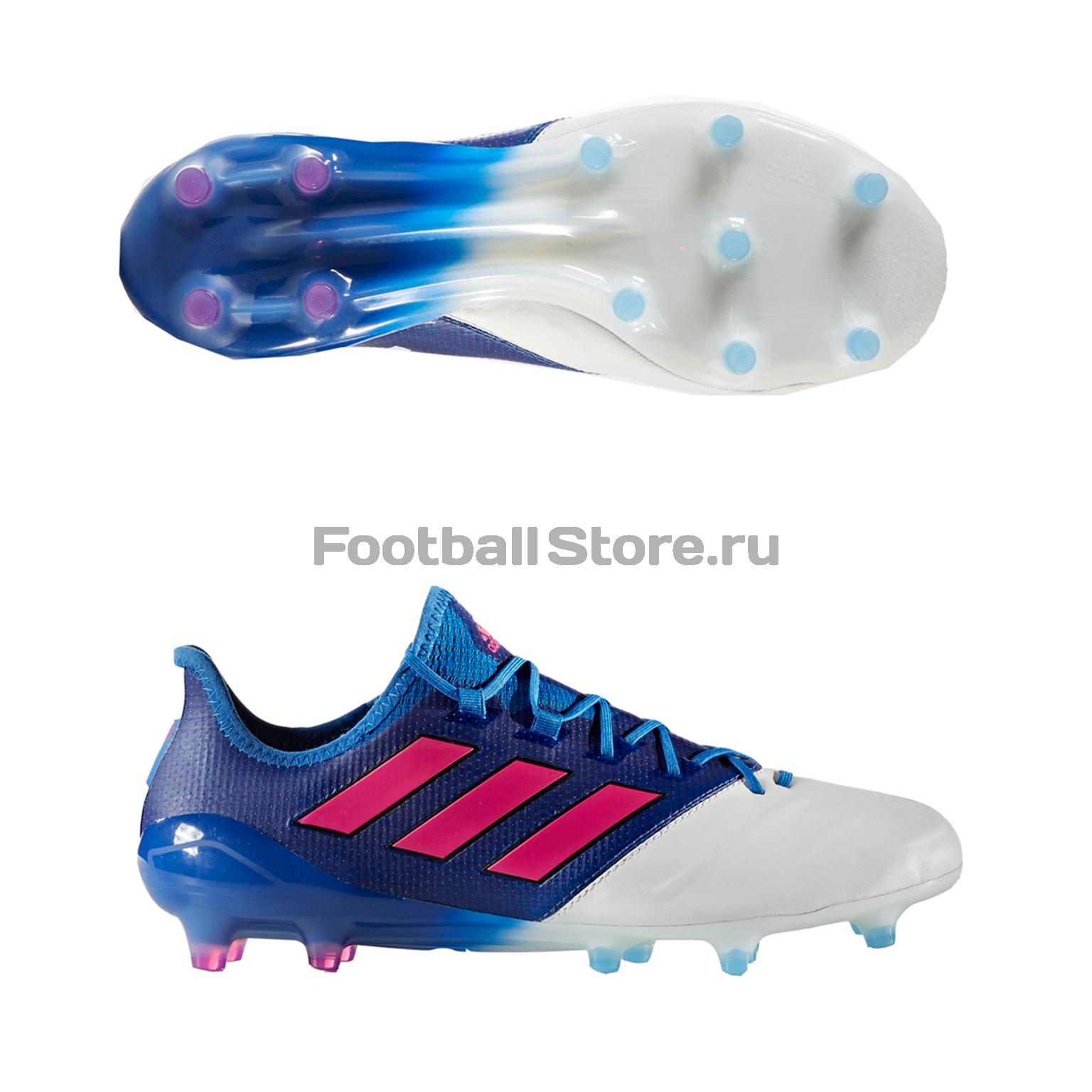 Игровые бутсы Adidas Бутсы Adidas ACE 17.1 Leather FG BB4321 adidas бутсы adidas ace 16 3 fg leather aq4456