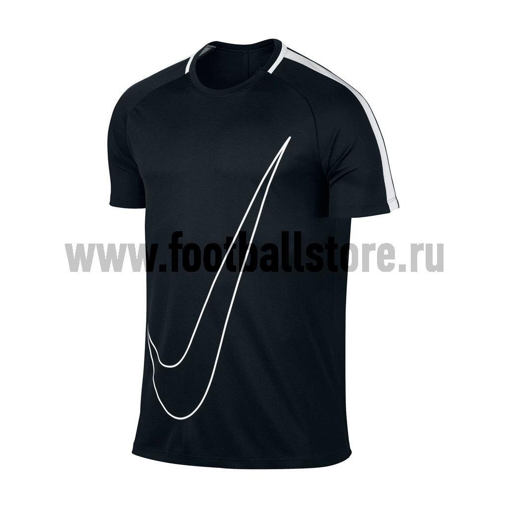 Футболка тренировочная Nike Academy 832985-010 футболка nike drill football top 807245 010 черный 164