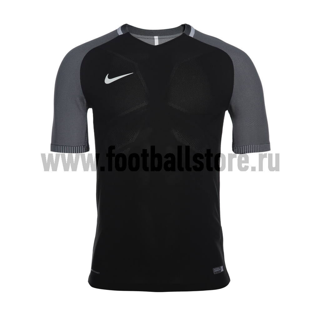 Футболки Nike Футболка игровая Nike  Vapor I 833039-010 спортинвентарь nike чехол для iphone 6 на руку nike vapor flash arm band 2 0 n rn 50 078 os