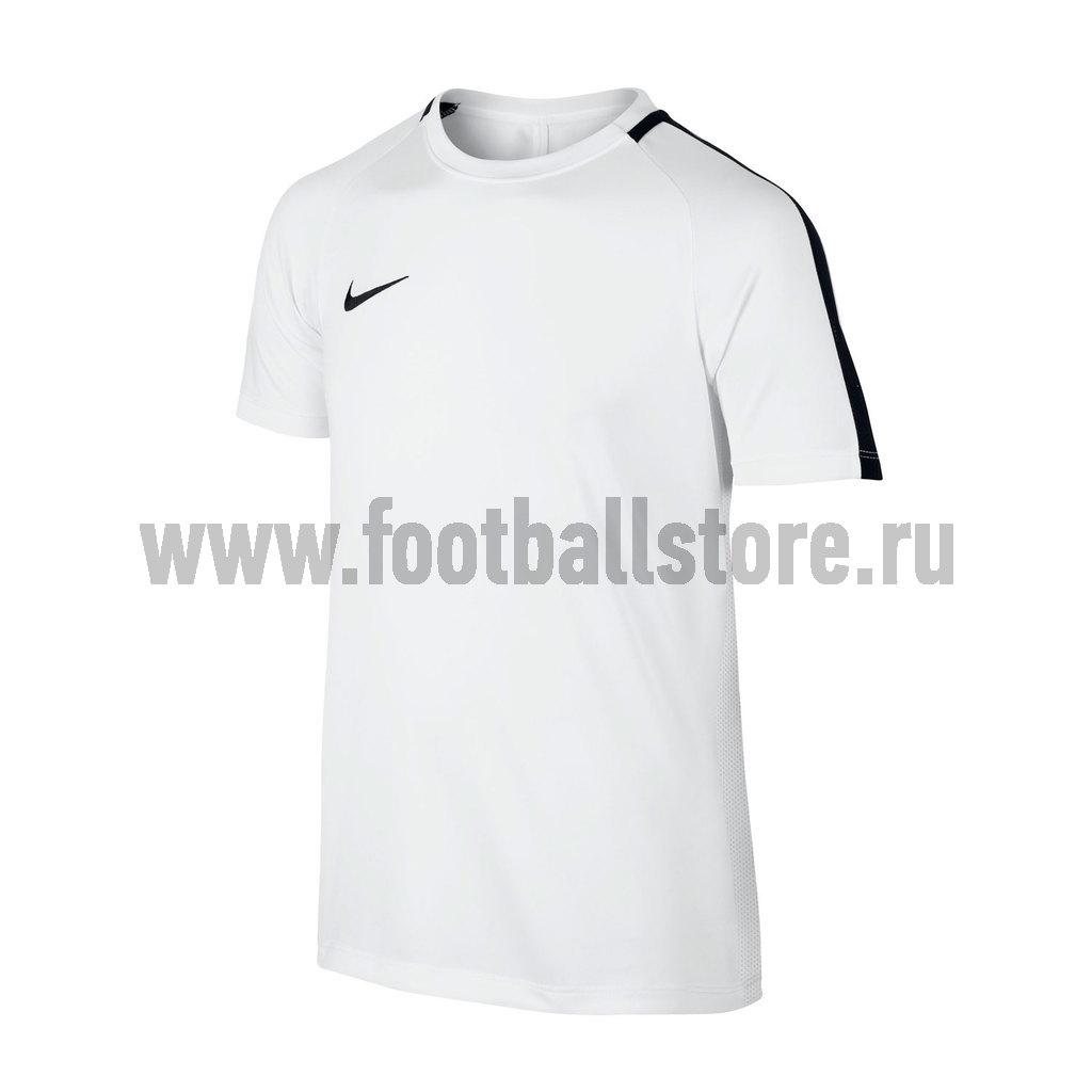 Тренировочная форма Nike Футболка тренировочная Nike Boys Academy 832969-100 игровая форма nike футболка детская nike ss precision iii jsy boys 645918 410