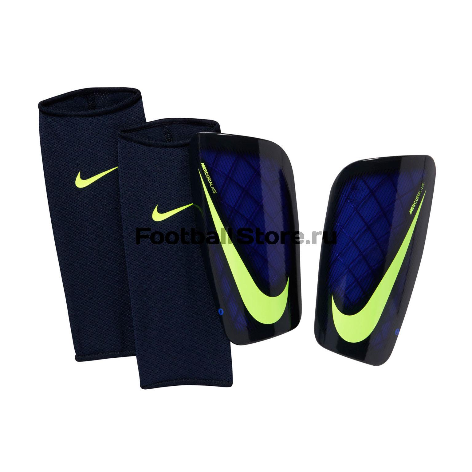 Защита ног Nike Щитки футбольные Nike Mercurial Lite SP2086-452 nike nike mercurial lite