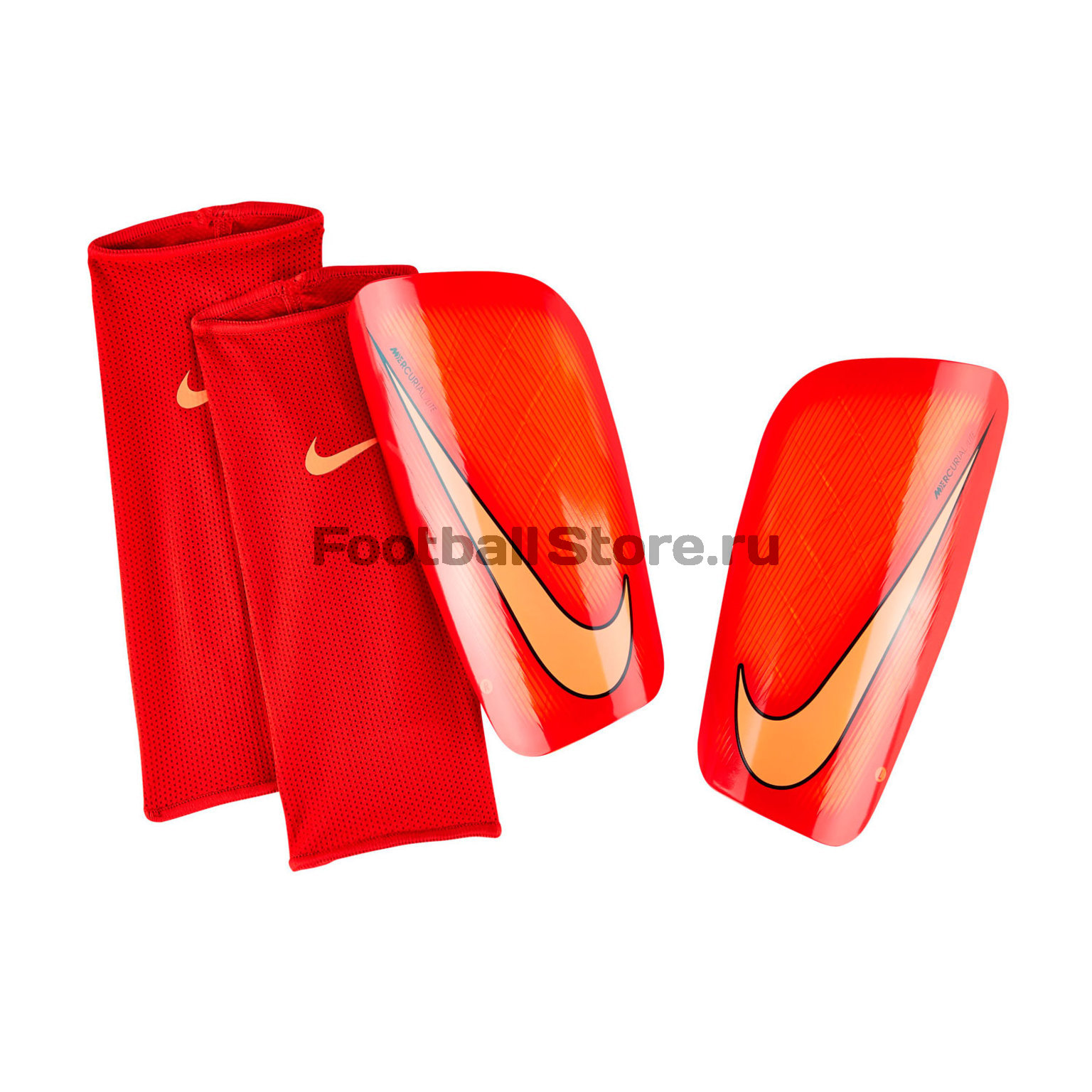 Защита ног Nike Щитки футбольные Nike Mercurial Lite SP2086-876 nike nike mercurial lite