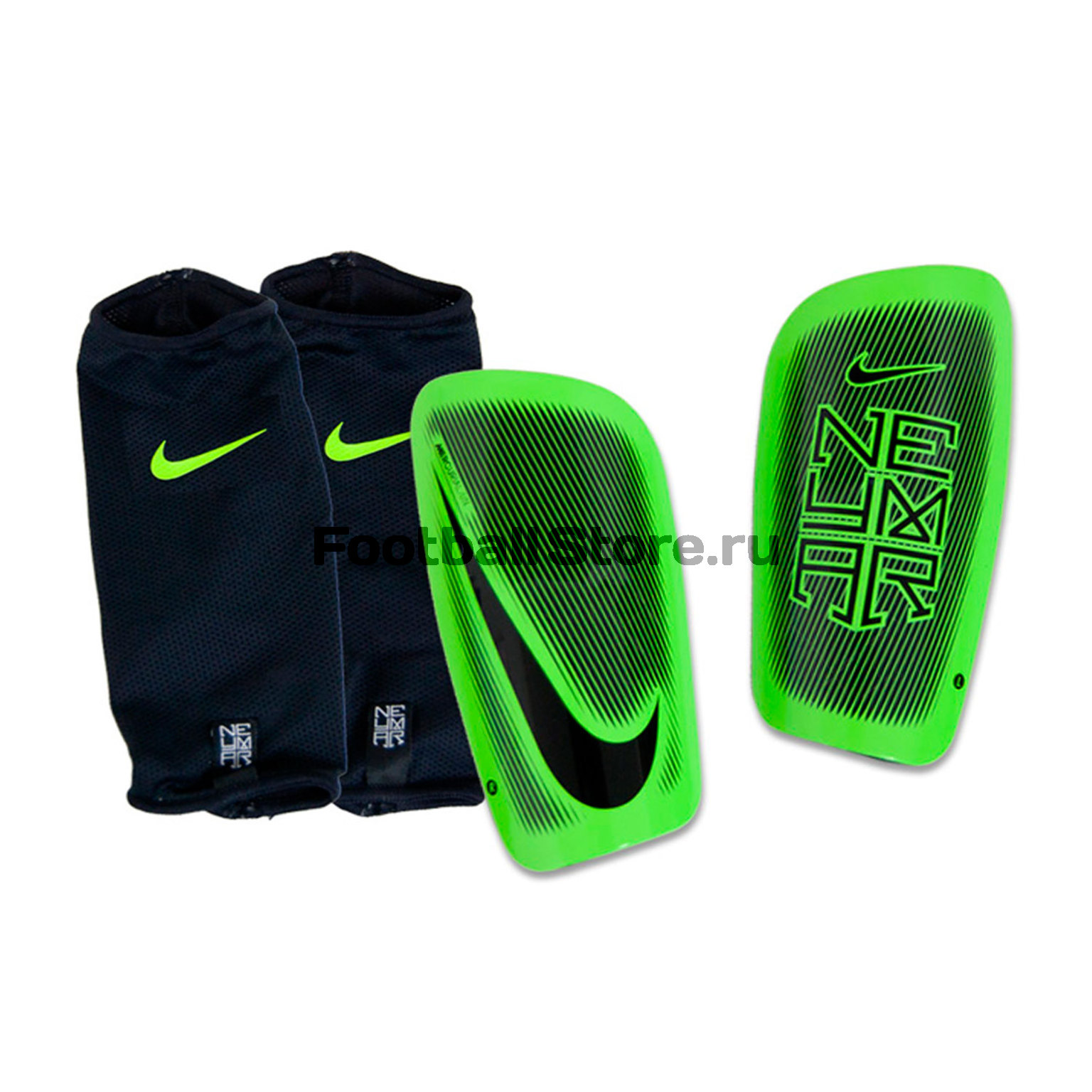 Защита ног Nike Щитки Nike Neymar NK Merc LT GRD SP2104-010 защита nike защита nk hyprstrng mtch ankl slv
