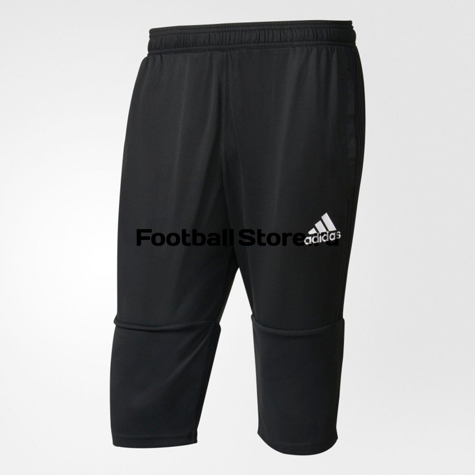 Брюки Adidas Брюки тренировочные Adidas Tiro17 3/4 PNT AY2879 брюки adidas брюки тренировочные adidas tiro17 3 4 pnt ay2879