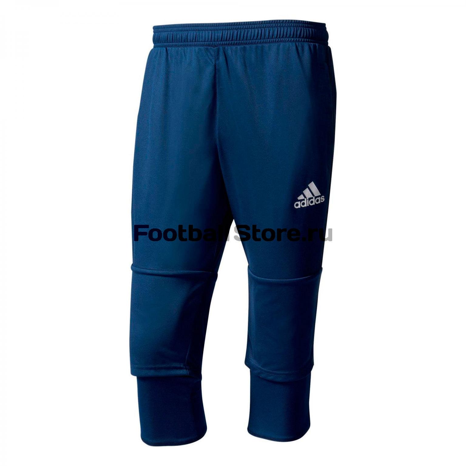 Брюки тренировочные Adidas Tiro17 3/4 PNT BQ2645 брюки adidas брюки тренировочные adidas tiro17 rn pnt ay2896