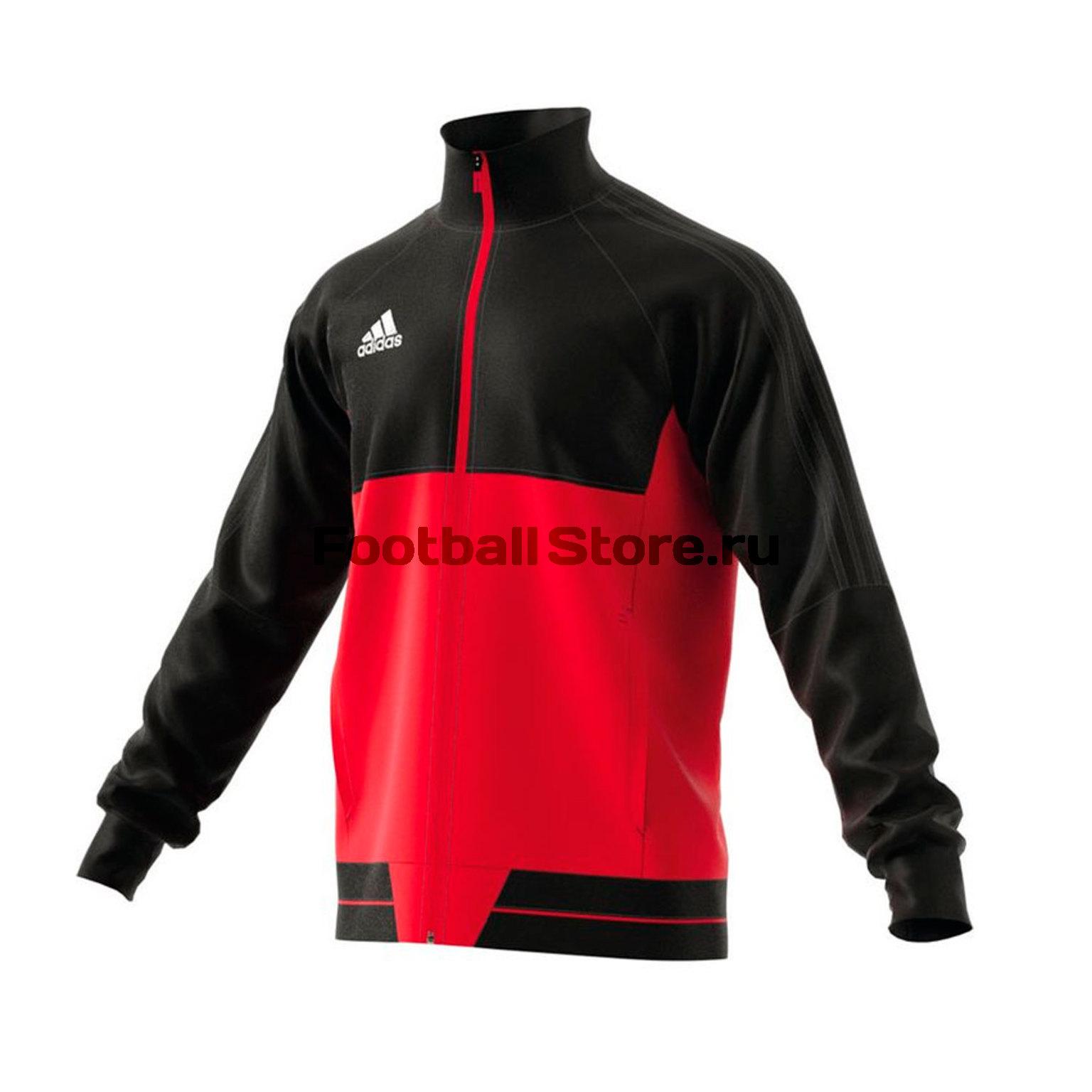 Олимпийка Adidas Tiro17 Pes JKT BQ2596 цена
