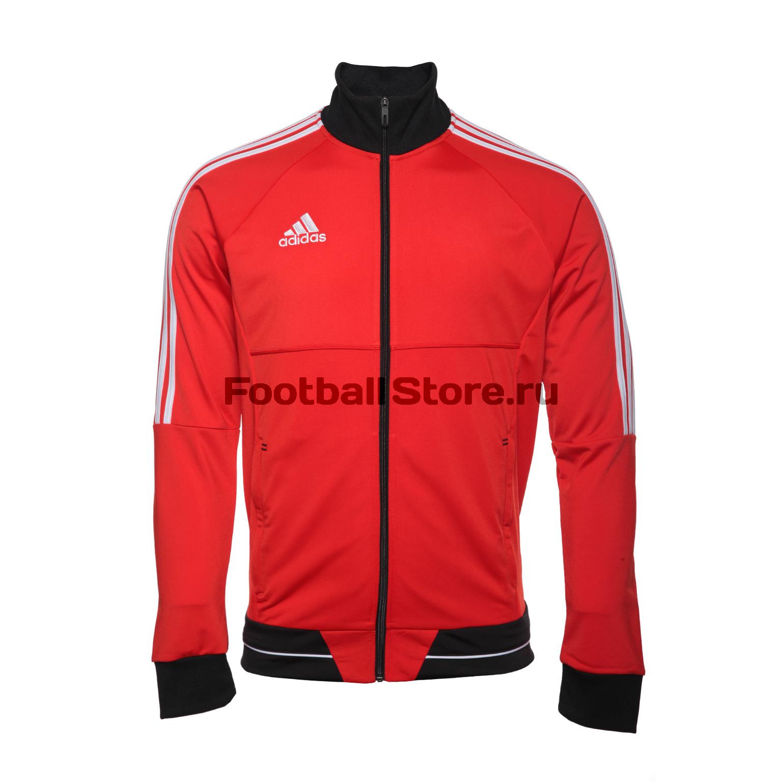 Олимпийка Adidas Tiro17 Pes Jkt BQ2606 цена