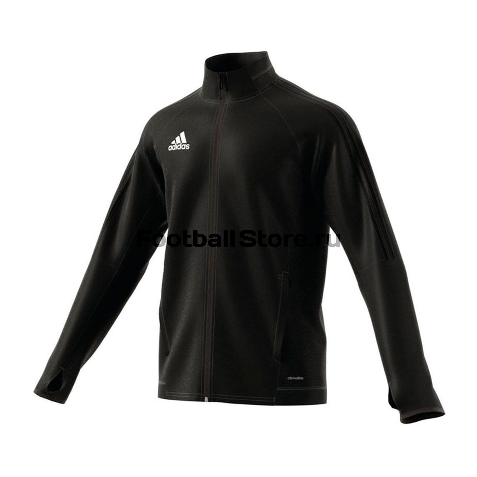 Олимпийка Adidas Tiro17 TRG JKT BJ9294 олимпийка мужская adidas tan club h jkt цвет черный dw9360 размер xs 40 42