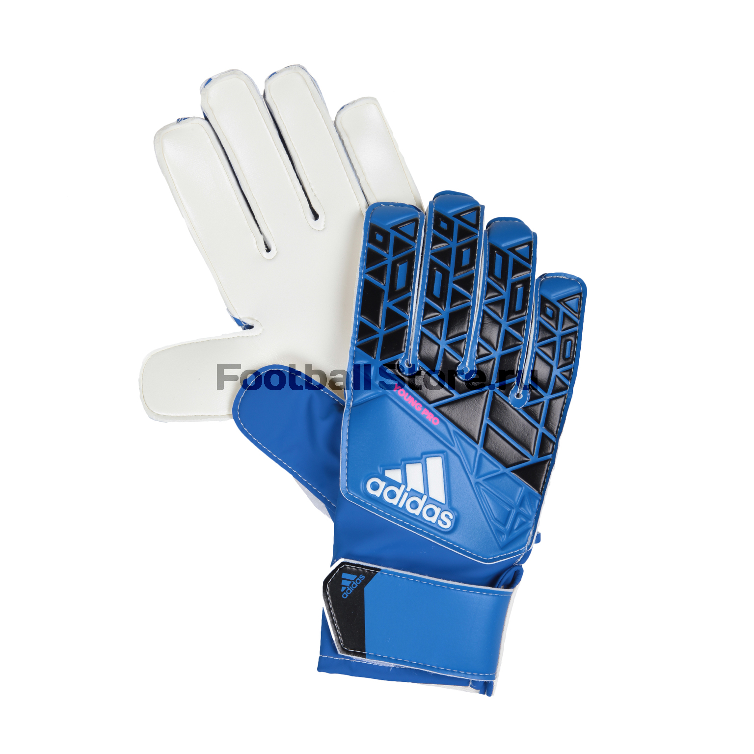 Перчатки вратарские Adidas Ace Pro AZ3679 перчатки вратарские adidas ace half neg az3688
