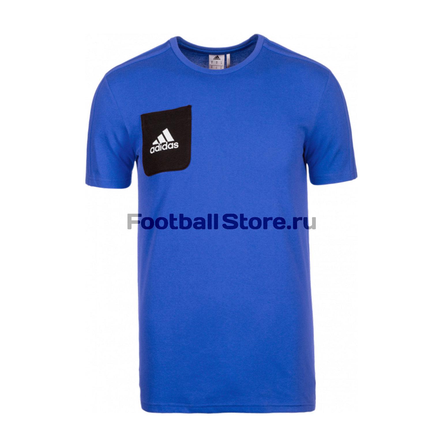 Футболка тренировочная Adidas Tiro17 Tee BQ2660 футболка adidas футболка stu clima tee
