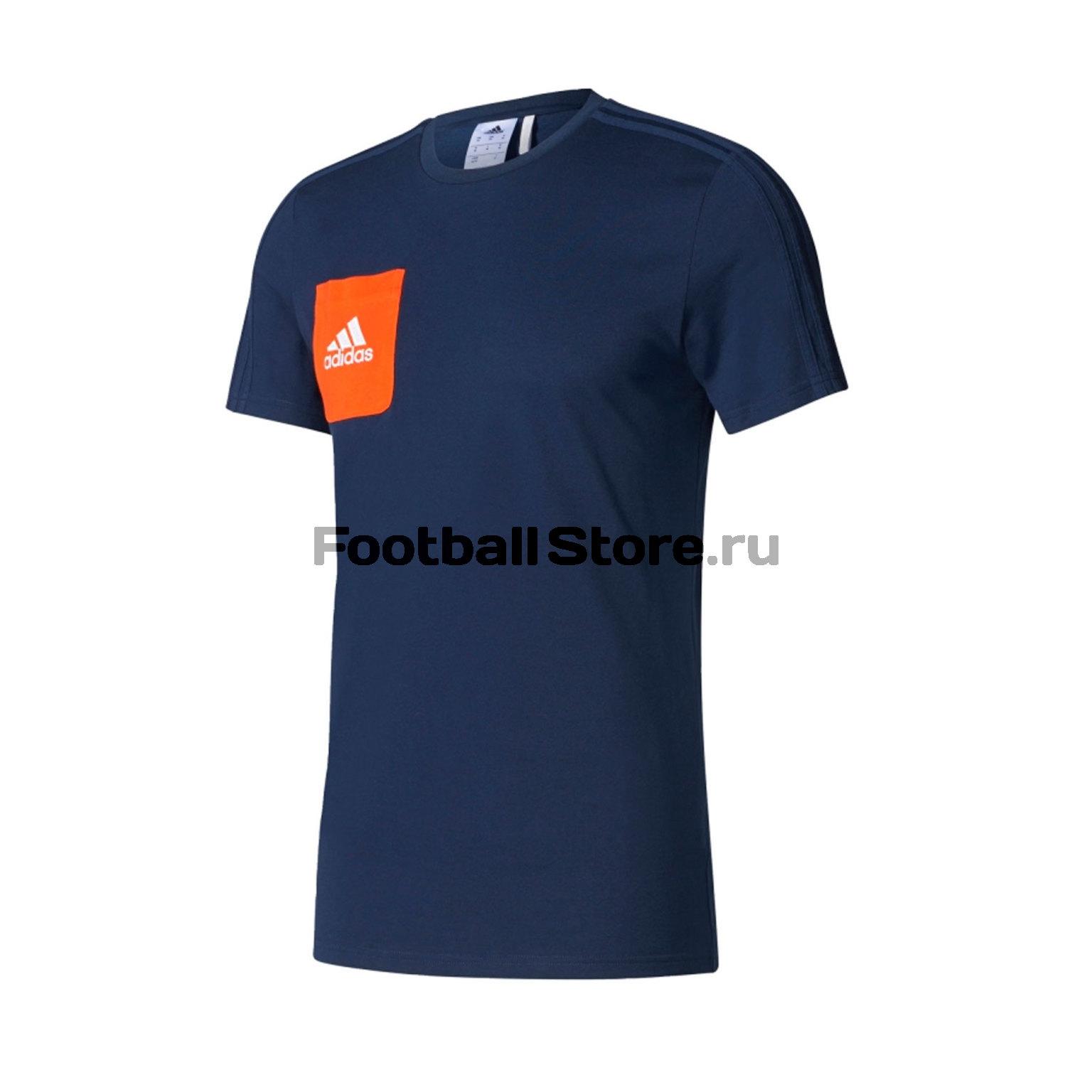 Футболка тренировочная Adidas Tiro17 Tee BQ2663 футболка тренировочная adidas tiro17 tee ay2964