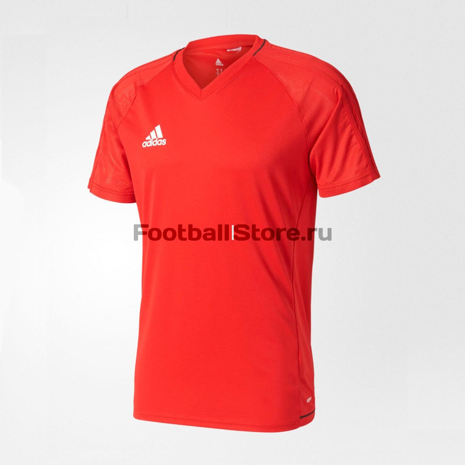 Футболка тренировочная Adidas Tiro17 TRG JSY BP8557 футболка тренировочная adidas tiro17 tee ay2964