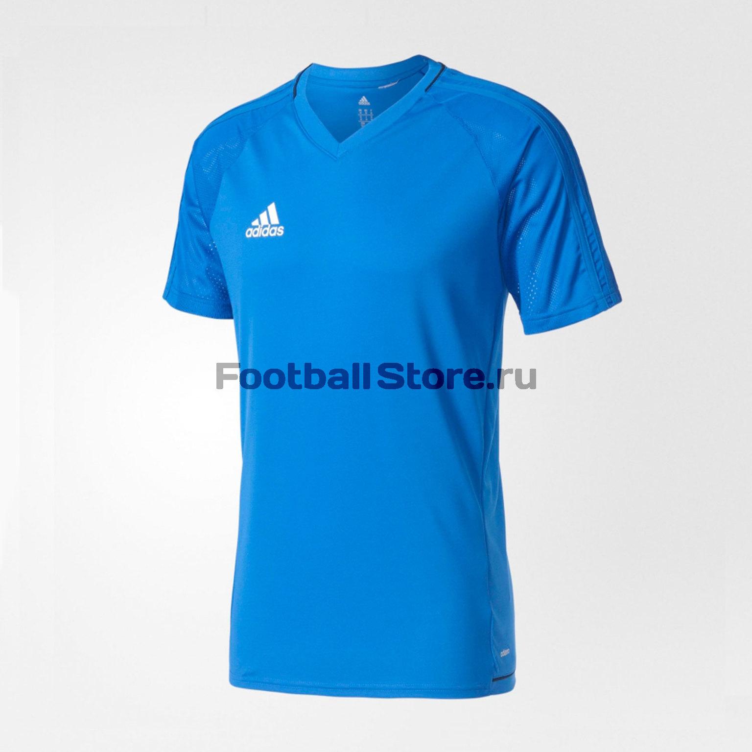 Футболка тренировочная Adidas Tiro17 Trg Jsy BQ2796 футболка тренировочная adidas tiro17 tee ay2964