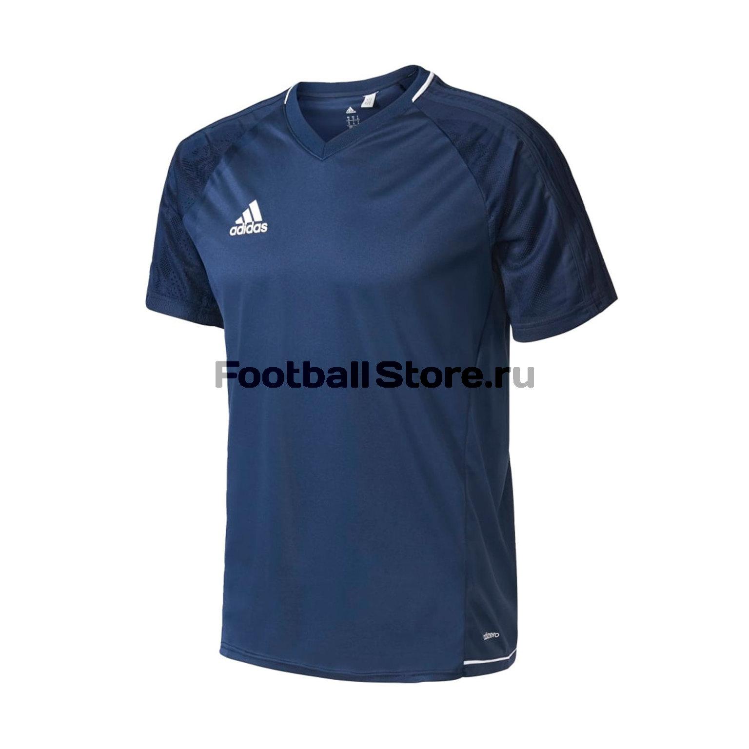Футболка тренировочная Adidas Tiro17 Trg Jsy BQ2799 футболка тренировочная adidas tiro17 tee ay2964