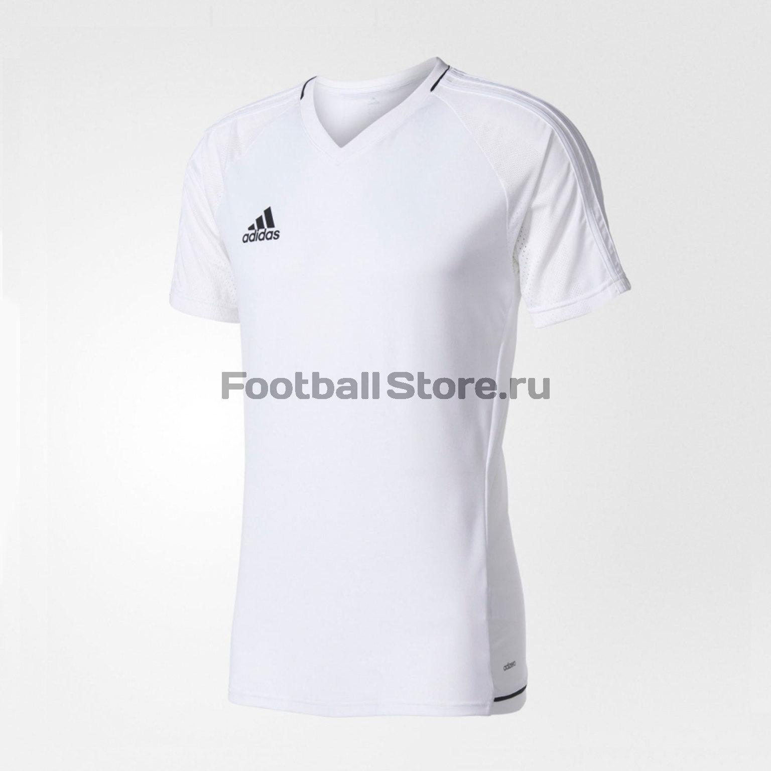 Футболка тренировочная Adidas Tiro17 TRG JSY BQ2801