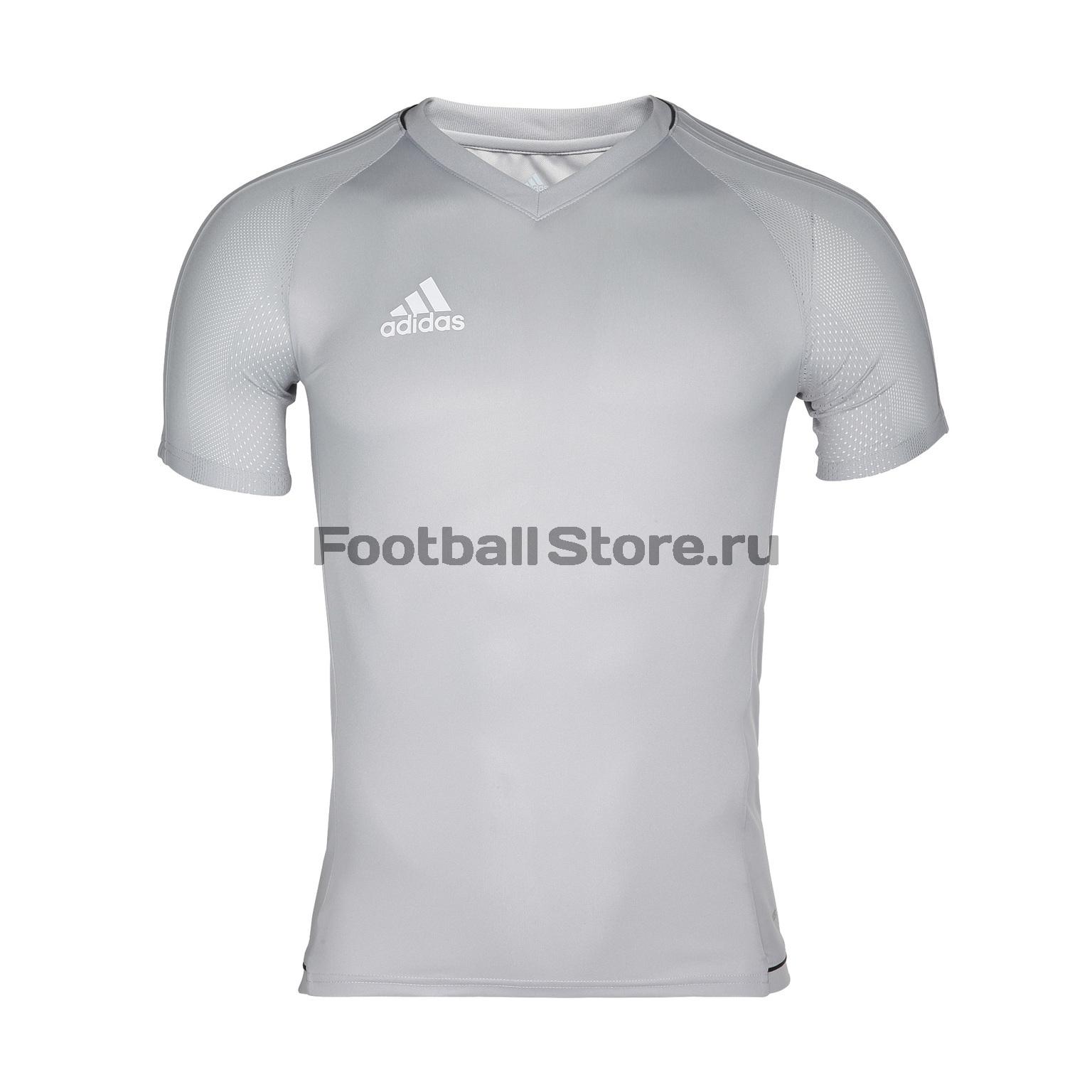 Футболка тренировочная Adidas Tiro17 TRG JSY BQ2806 футболка тренировочная adidas tiro17 tee ay2964